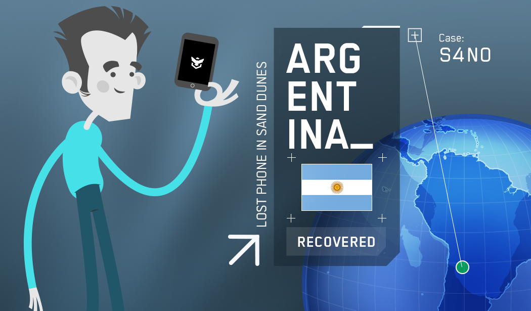 Recover Lost Phone - Recovery Case Argentina